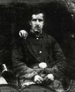 Private David C. Meechan (1838-1909) lived in Ashdod and served with the 18th Massachusetts, Company E